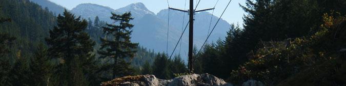Transmission Line - Harrison & Lillooet Lakes