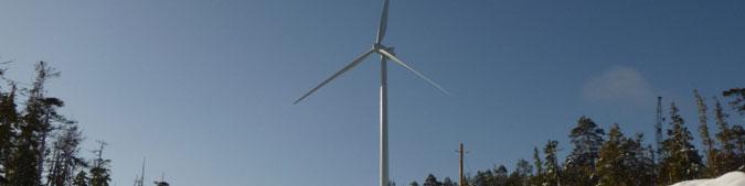 Cape Scott Wind Farm