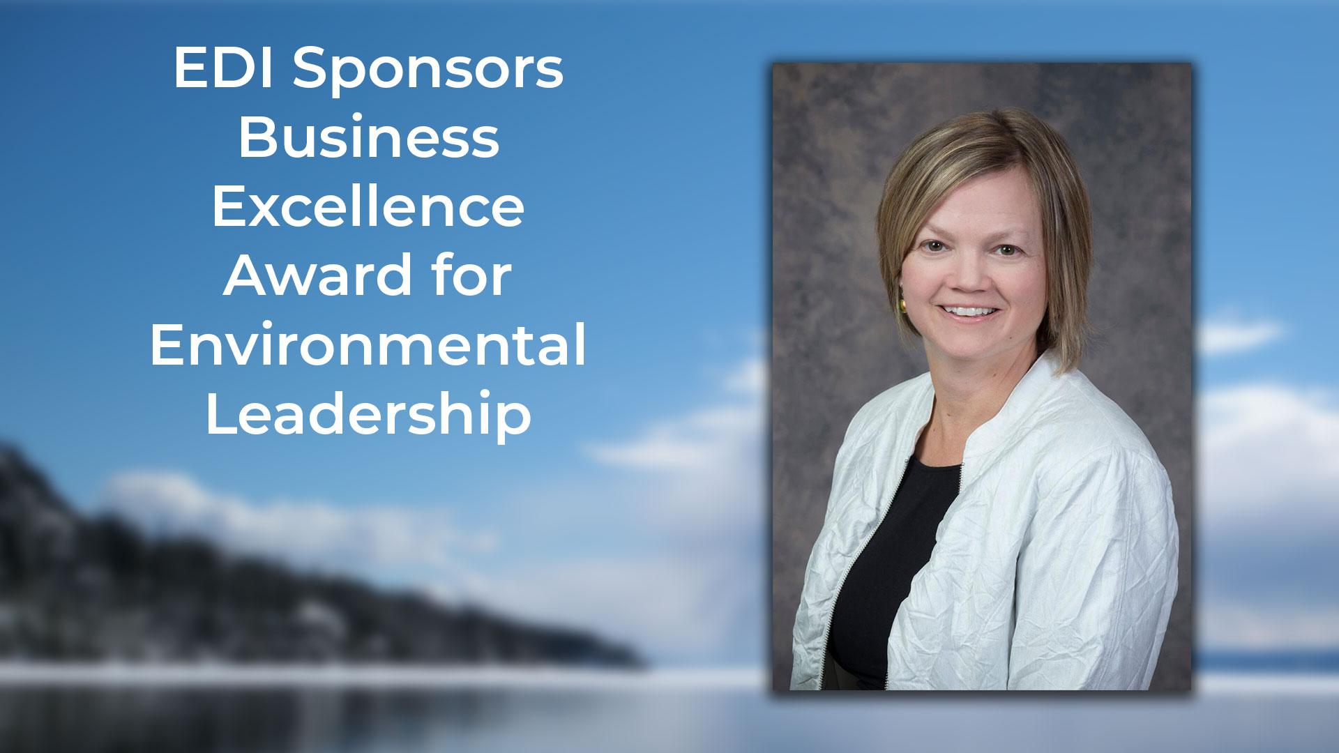 EDI Sponsors Business Excellence Award for Environmental Leadership